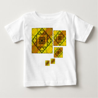 Fractal Geometry Kid's and Baby Light Shirt