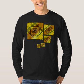 Fractal Geometry Men's Dark Shirt