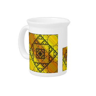 Fractal Geometry Pitcher