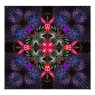 Fractal Geometry Quadra Art Photo