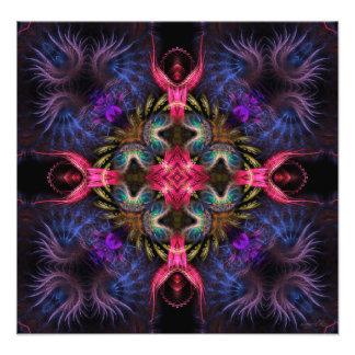 Fractal Geometry Quadra Art Photo