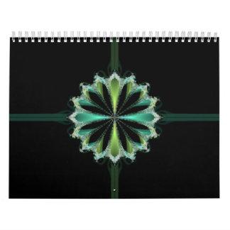 Fractal Gift Wall Calendar