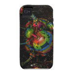 Fractal gigante Case-Mate iPhone 4 fundas