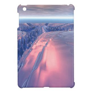 Fractal Glacier Landscape iPad Mini Case