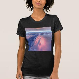 Fractal Glacier Landscape T-Shirt