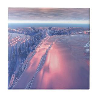 Fractal Glacier Landscape Tile