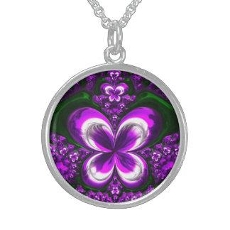 Fractal Glass 1 Necklace