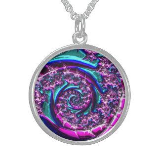 Fractal Glass 2 Necklace