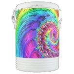 Fractal Glass 6 Beverage Cooler Igloo Beverage Dispenser