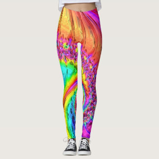Fractal Glass 6 Leggings