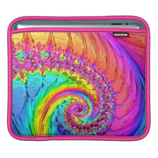 Fractal Glass 6 Sleeve For iPads