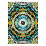 Fractal Glass Kaleidoscope Cards