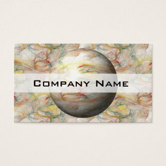 Fractal Globe Business Card
