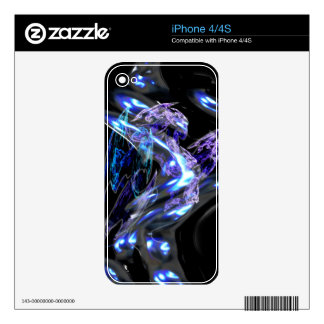 Fractal Goddess Abstract iPhone 4 Skin