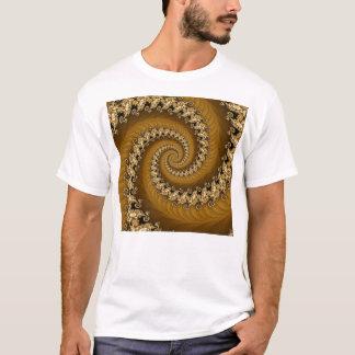 Fractal Golden Double Spiral Shirt