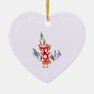 Fractal - Gombay Dancer Christmas Ornaments