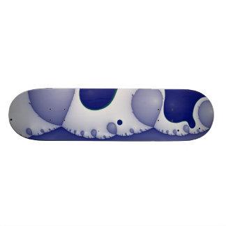 Fractal gone crazy skateboard deck