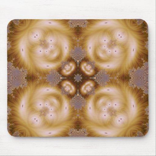 Fractal grabado en relieve 9 tapetes de ratones