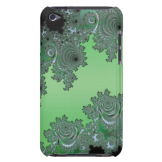 Fractal Green Dream Decor Barely There iPod Covers