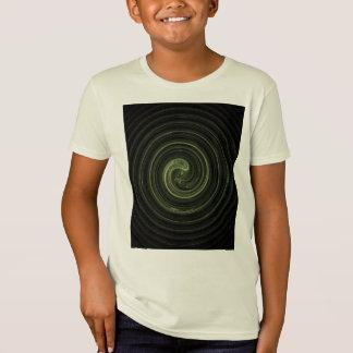 Fractal Green Spiral T-Shirt