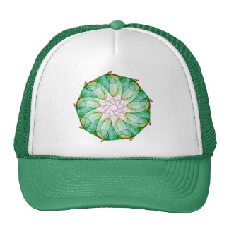 Fractal Green Trucker Hat
