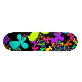 Fractal Groovy Summer Skateboard