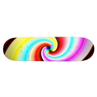 Fractal Half Pipe Skateboard