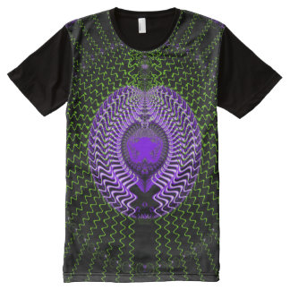 Fractal Heart All-Over-Print T-Shirt