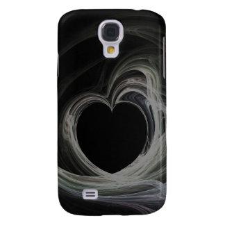 Fractal Heart Art Galaxy S4 Cover