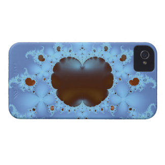 Fractal Heart in the Clouds iPhone 4 Case