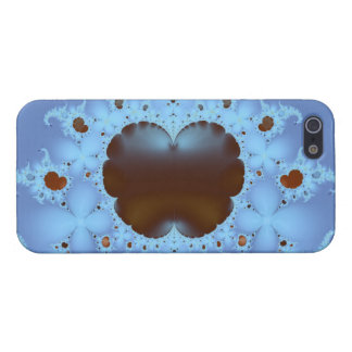 Fractal Heart in the Clouds iPhone 5 Case