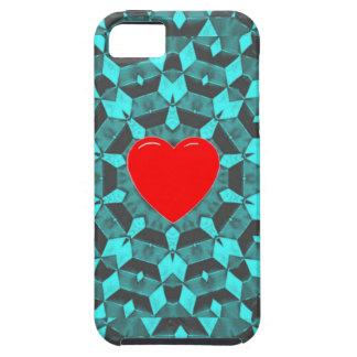 Fractal Heart iPhone SE/5/5s Case
