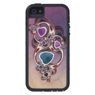 Fractal Hearts iPhone 5 Case