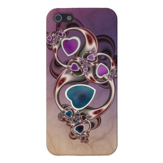 Fractal Hearts Case For iPhone 5