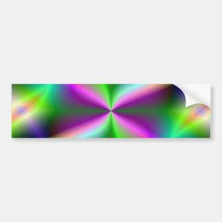 Fractal Hourglass Art Bumper Sticker