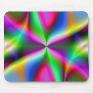 Fractal Hourglass Art Mouse Pad