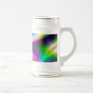 Fractal Hourglass Art 18 Oz Beer Stein