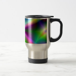 Fractal Hourglass Art Travel Mug