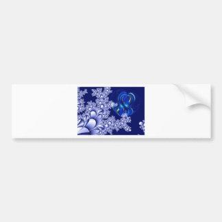Fractal Image Fash Bumper Sticker