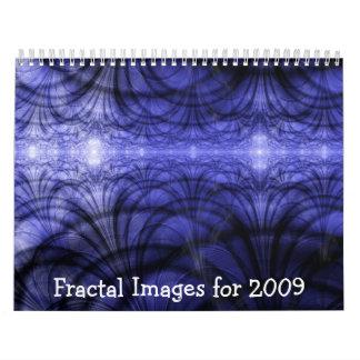 Fractal Images for 2009 Calendar