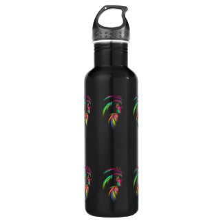 Fractal - Indian Chief 24oz Water Bottle