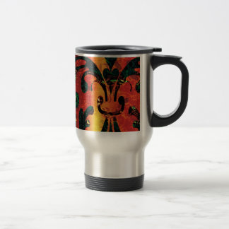 Fractal Inferno Calamity Travel Mug