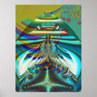 Fractal inner worlds poster