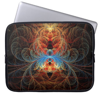 Fractal - Insect - Black Widow Laptop Computer Sleeves