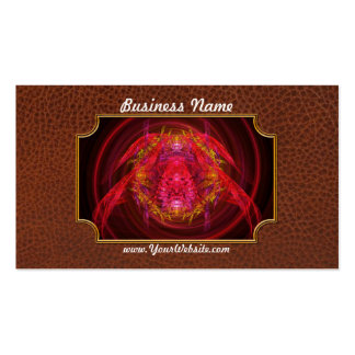 Fractal - Insect - Jeweled Scarab Business Card Template
