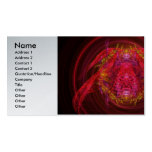 Fractal - Insect - Jeweled Scarab Double-Sided Standard Business Cards (Pack Of 100)