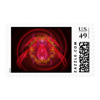 Fractal - Insect - Jeweled Scarab Stamps