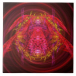 Fractal - Insect - Jeweled Scarab Tile