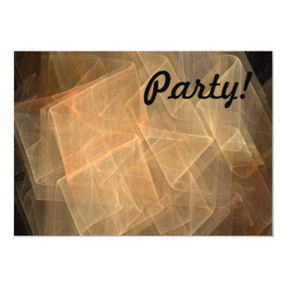 Fractal 5x7 Paper Invitation Card