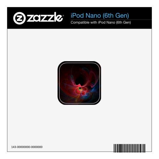 Fractal iPod Nano Calcomanías